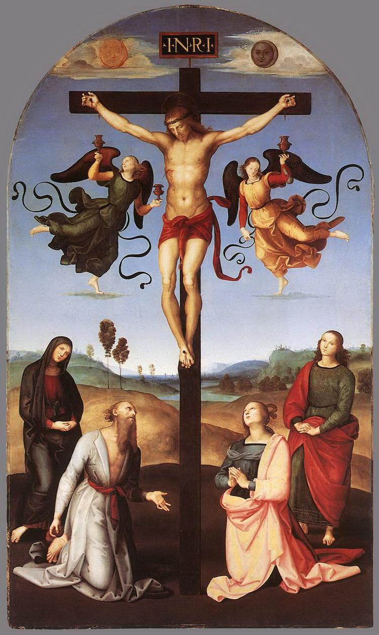 икона распятие иисуса христа:
