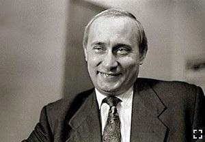 Путин в своем рабочем кабинете, 1994